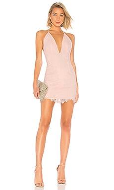 Купить Мини платье o.v.g. - X by NBD розового цвета