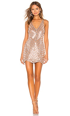 Europa Embellished Mini Dress X by NBD $370