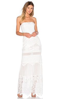 X by NBD Paloma Dress in White