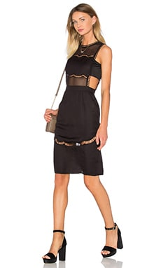 X by NBD Angelina Dress in Black