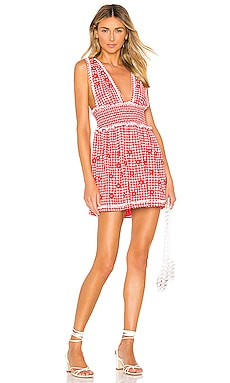 Florence Embroidered Midi Dress X by NBD $55