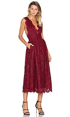 Adalynn Dress in Bordeaux