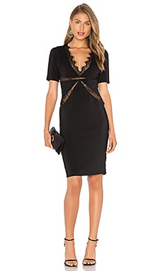 X by NBD Parker Dress in Black