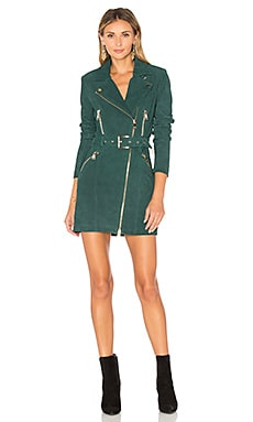 Nicole Dress in Petrol Green