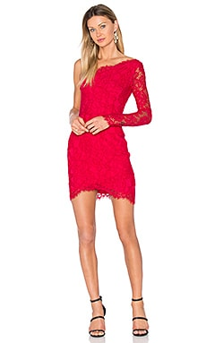 Mia Dress in Red