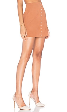 X by NBD Anja Skirt in Camel
