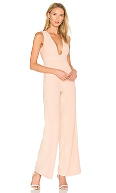 Huntley Jumpsuit in Zartrosa