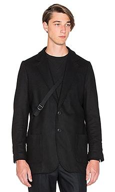 Y-3 Yohji Yamamoto Chute Blazer in Black