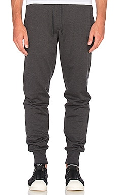 Classic Cuff Pant in Charcoal Melange