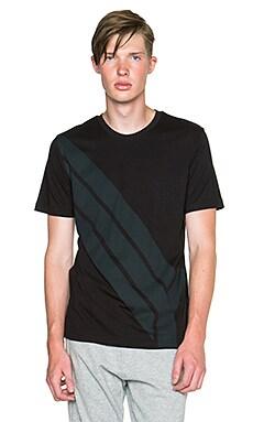 Y-3 Yohji Yamamoto Flight SS T Shirt in Black