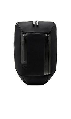 Y-3 Yohji Yamamoto Flat Backpack in Black  37574a269d1e2