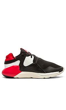 Y-3 Yohji Yamamoto Boost QR in Roundel Red Black White