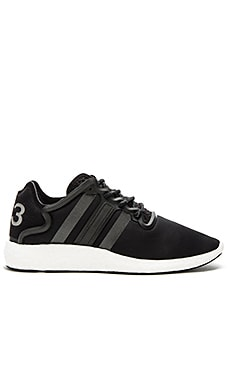 Y-3 Yohji Yamamoto Yohji Run in Core Black & Reflective & FTW White