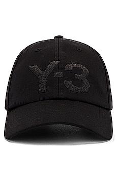 Logo Cap Y-3 Yohji Yamamoto $56
