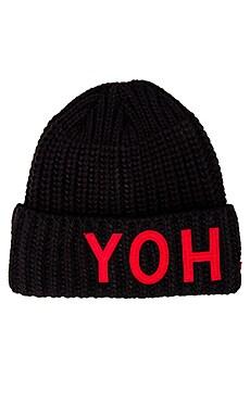 Yohji Beanie Y-3 Yohji Yamamoto $80