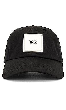 Square Label Cap Y-3 Yohji Yamamoto $80