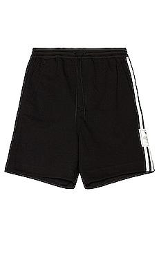 3 Stripe Classic Terry Shorts Y-3 Yohji Yamamoto $190