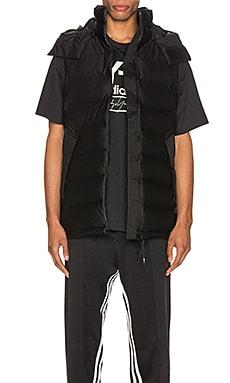Seamless Down Hooded Vest Y-3 Yohji Yamamoto $315