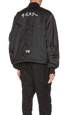 보머 자켓 Y-3 Yohji Yamamoto $700