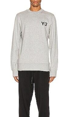 크루넥 스웨터 Y-3 Yohji Yamamoto $126