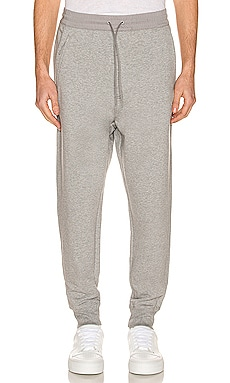 Classic Terry Cuffed Pants in Medium Grey Heather Y-3 Yohji Yamamoto $200