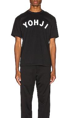 T-SHIRT YOHJI LETTERS Y-3 Yohji Yamamoto $120 NOUVEAUTÉ