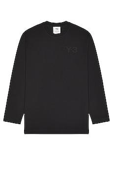 Chest Logo Long Sleeve Tee Y-3 Yohji Yamamoto $100 BEST SELLER