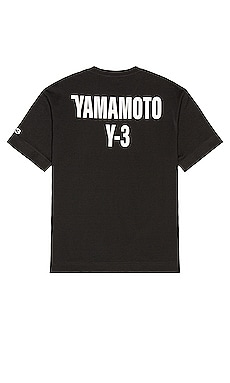 CH2 GFX Short Sleeve Tee Y-3 Yohji Yamamoto $130
