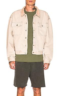 Season 6 Flannel Lined Denim Jacket YEEZY $630