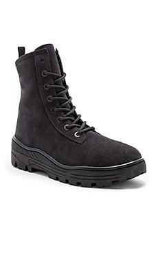 Season 6 Suede Combat Boots YEEZY $260