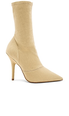 Season 6 Stretch Canvas Ankle Boot 110mm