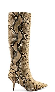 SEASON 7 Fake Python Knee High Boot 70MM YEEZY $775