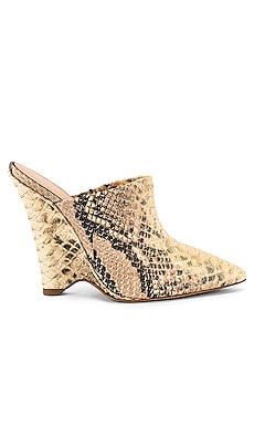 SEASON 8 Python Wedge Mule Pump YEEZY $618