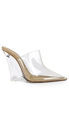 SEASON 8 PVC Wedge Mule Pump YEEZY $510