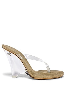 SEASON 8 PVC Wedge Thong Sandal YEEZY $830