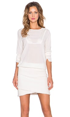 Yerse Longsleeve Dress in Linda