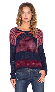 Yerse Pullover Sweater in Multi