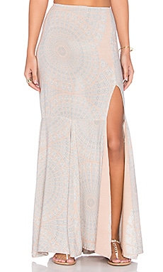 YIREH Selah Slit Skirt in Sundial