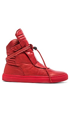 YLATI: NERO Giove Hi in Red Leather