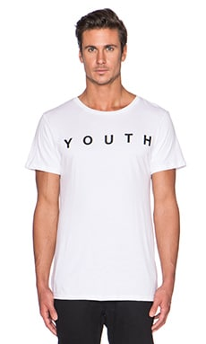 Youth Machine Internet Dreams Tee in White