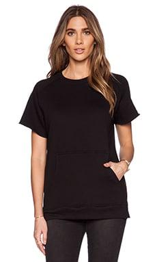 Youth Machine Standard Cut Off Sweatshirt in Black