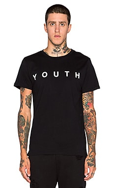 Youth Machine Youth S/S Tee in Black