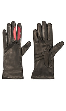 Lip-Service Applique Gloves