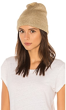 Soho Metallic Knit Beanie