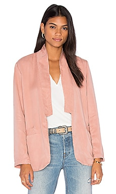 YORK street Slim Shawl Collar Blazer in Sedona