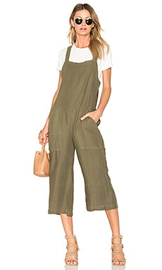 Wide Leg Bib Jumpsuit