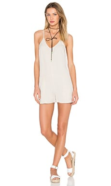Playsuit in Stone