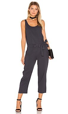 YORK street Cropped Pantsuit in Midnight