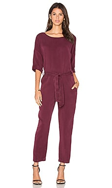 YORK street Easy Pantsuit in Mahogany