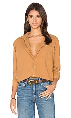 Perfect Boyfriend Top in Camel